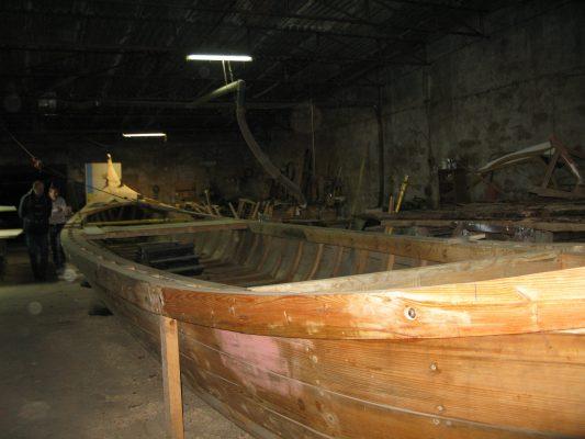 Traditional boat building in Gafanha da Encarnação, (Ilhavo municipality, Ria de Aveiro region)