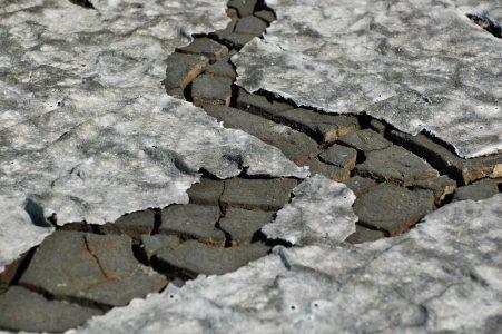 Saltpans mud due to the effects of salt  (Aveiro municipality, Ria de Aveiro region)