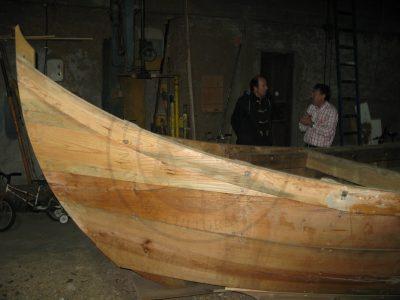 Traditional Boat Building in Gafanha da Encarnação (Ilhavo municipality, Ria de Aveiro region)