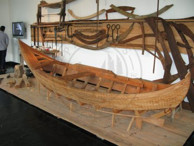 Traditional boat building process in the Ilhavo maritime museum