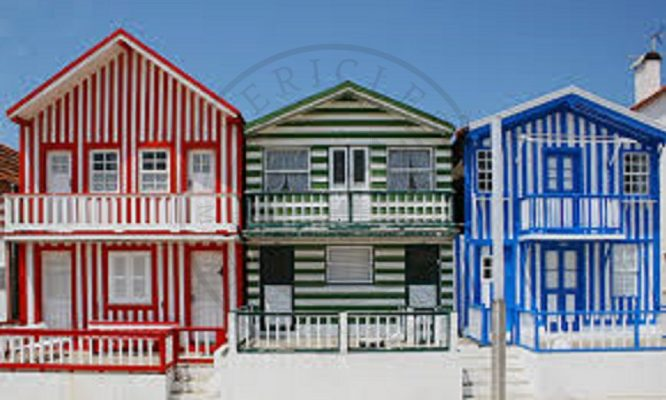 Traditional coastal buildings