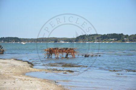 B1 - Oyster infrastructure - Locmariaquer (Gulf of Morbihan, Brittany) - Sybill HENRY