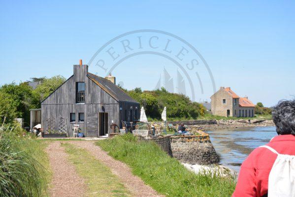 B1 - Oyster tasting house - Locmariaquer (Gulf of Morbihan, Brittany) - Sybill HENRY