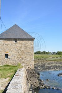 B1 - Tidal mill of Coët Courzo - Locmariaquer (Gulf of Morbihan, Brittany) - Sybill HENRY