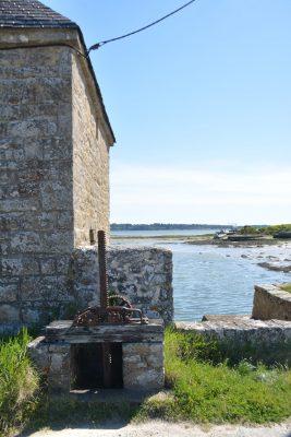 B4 - Tidal mill of Kerouarc'h - Locmariaquer (Gulf of Morbihan, Brittany) - Sybill HENRY