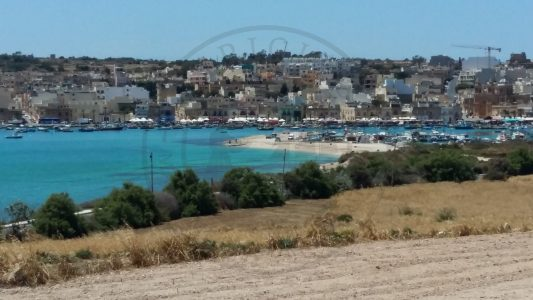 Marsaxlokk from distance