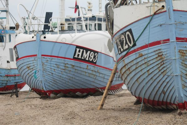 Thorup Strand boats