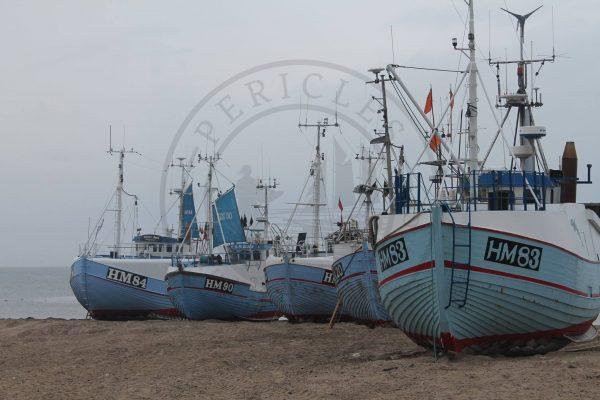 Thorupstrand boats